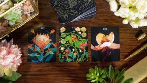 botanica tarot deck 3 cards